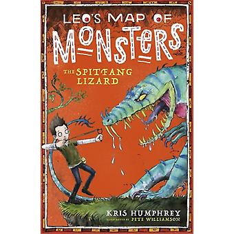 Leos Map of Monsters The Spitfang Lizard by Kris Humphrey