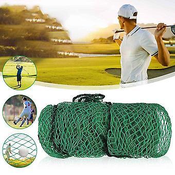 Green Golf Practice Barrier Net, Durable Rugged Weatherproof Practice-net