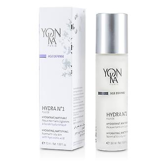 Yonka Age Defense Hydra No.1 Fluide With Hyaluronic Acid - Hydrating, Mattifying (Normal To Oily Skin) 50ml/1.69oz