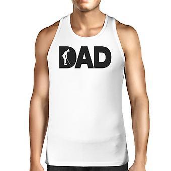 Dad Golf Herren Weiß Grafik Tanks einzigartiges Design