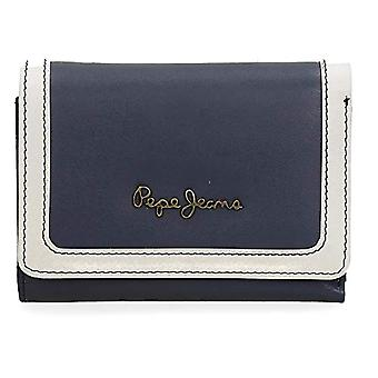 Pepe Jeans Lines Multicolor Wallet 18x10x2 cms Leather