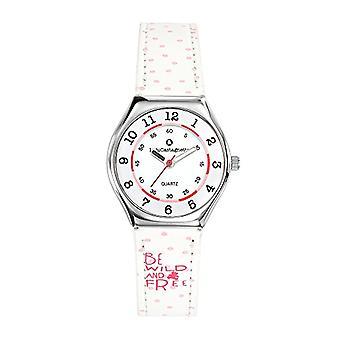Lulu Castagnette Analog Girl Quartz Watch with Leather Strap 38851