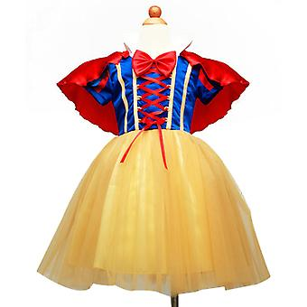 Girls' Princess Costume Fancy Dresses Up Halloween Party
