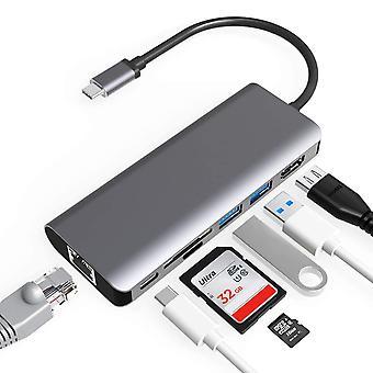 Convertisseur type-c vers HDMI 4k pour station d'accueil 7-en-1