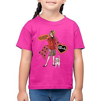 Sindy Wonderful Fashionable Fun Kid's T-Shirt