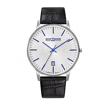 Men's Watch 8660121AFID - Black Leather