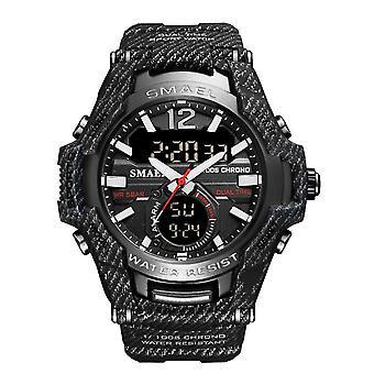 Black fashion outdoor waterproof sports watch for men az17265