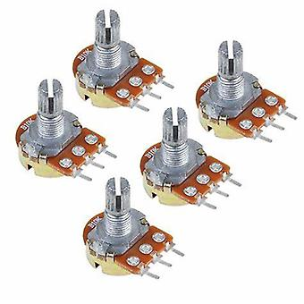 Red Rotary Switch Knobs Cap Kit