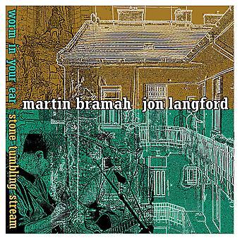 Martin Bramah Jon Langford – Wurm in Ihrem Ohr/Stein Tumbling Stream (schnelle Version) Limited Edition Vinyl