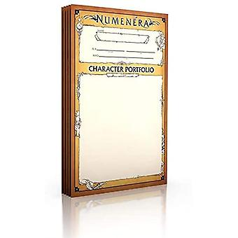 Numenera Character Portfolio - 5 pakker