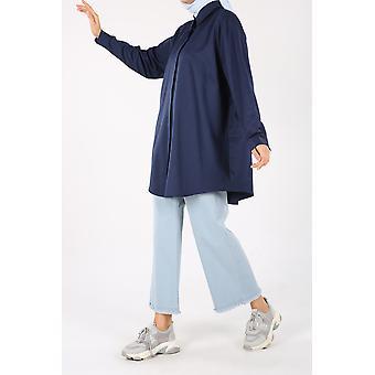 Plus Size Overhemd Tuniek