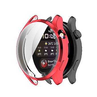 Silicone Shell Huawei Watch 3 - Rouge