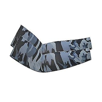 Uv Sun Protection Arm Sleeves- Upf 50 Sports Compression Cooling Sleeve(Camouflage2)