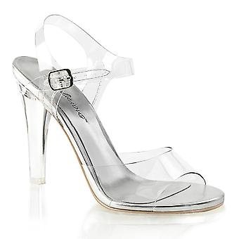 Fabulicious Women's Chaussures CLEARLY-408 Clr Lucite