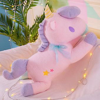 (Pink) 38CM Jumbo Plush Unicorn Toys Cute Animal Dolls For Adult Kids Gifts Room Decor