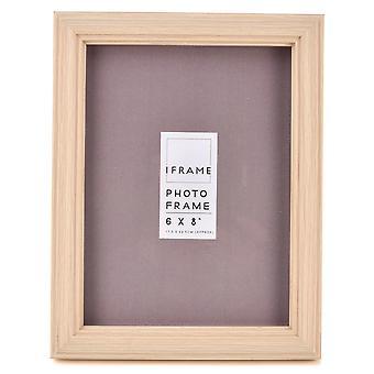 "iFrame Light Wood Finish Bilderrahmen 6 ""x 8"""
