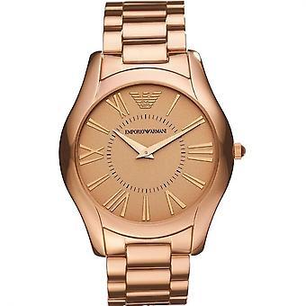 Emporio Armani AR2061 Valente Superslim Rose Gold Men's Watch