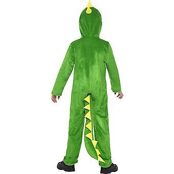 Großes Krokodil Kostüm, Grün (Alter 10-12)