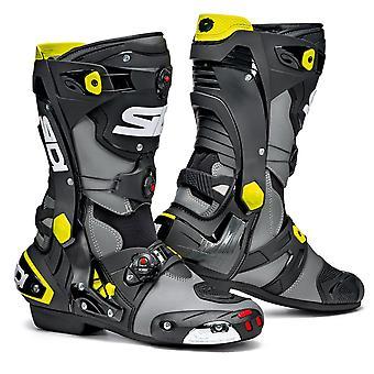 Sidi Rex Grey Black Yellow Boots CE