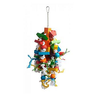 """Prevue Bodacious Bites Wizard Bird Toy - 1 Pack - (Approx. 8.75""""L x 7.5""""W x 19.5""""H)"""