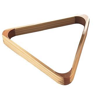 باور غليد المثلث الخشبي الكلاسيكي مناسبة للسنوكر وحمام السباحة - 57mm