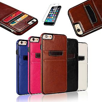 Iphone 6 Plus/6 s Plus-Leder-Etui/Wallet