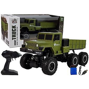 Camion militar controlat radio - 6x6 - 38 cm