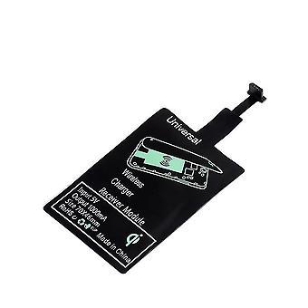 Wireless Ladegerät Empfänger, Quick Charge Dock Stand für iPhone (Qi Empfänger A)
