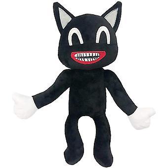 Dibujos animados Gato negro Felino 25cm Juguete infantil Divertido Juguete Horror Leyenda