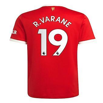 Men's Football Jersey New Season Mnchester 2021-2022 United #19 R.varane Soccer Jersey Sports T-shirts S-xxl