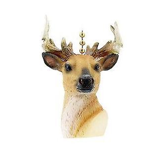 Deer Hunter Hunting Cabin Lodge Fan Light Pull