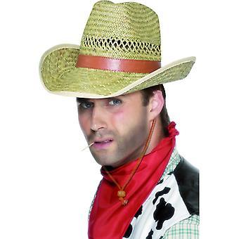 כובע קאובוי קש רודיאו בוקרים כובע קש כובע