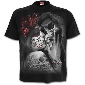スパイラル - デッドキス - メン&アポス;s半袖Tシャツ - 黒