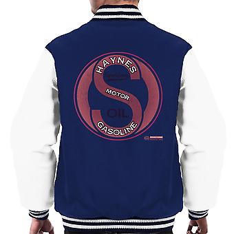 Haynes Brand Sparkford Motor Gasoline Men's Varsity Jacket