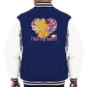 Kero-Chan ta mitt hjerte Captor Sakura menn Varsity jakke