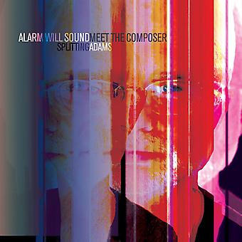 Adams / Alarm Will Sound / Pierson - Splitting Adams with Meet the Composer [CD] USA import
