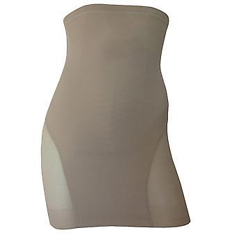 Miraclesuit Shapewear Sexy Sheer Nude Hi-Waist Slip 2784