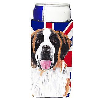 Saint Bernard con inglese Union Jack bandiera britannica Ultra bevanda isolanti per