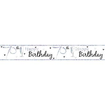 Simon Elvin Happy 70th Birthday Foil Party Banner