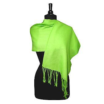 ビアジオ 100% ウール パシュミナ ソリッド スカーフ レディース ショール ラップ スカーフ