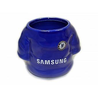 Camiseta oficial del Chelsea FC en forma de taza