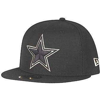 New era 59Fifty Fitted Cap - Dallas Cowboys black / gold
