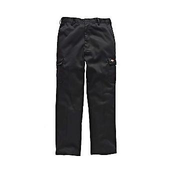 Dickies Mens Redhawk Chino Workwear Hose schwarz WD803B
