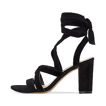 INC International Concepts Womens Kailey Suede Open Toe Casual Strappy Sandals