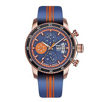 Ingersoll men's watch wristwatch automatic bison N0. 74 IN1717RG