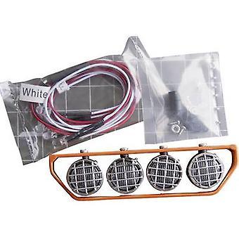 Amewi Roof rack (4 LEDs) Orange