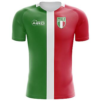 2020-2021 Italy Flag Concept Football Shirt (Kids)