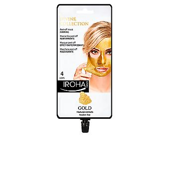 Iroha Gold Peel-off Firming Mask 4 Uses For Women