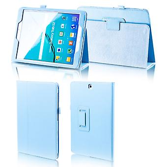 For Samsung Galaxy tab A-10.5 T590 T595 light blue synthetic leather case cover pouch case new