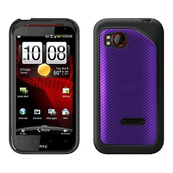 5 Pack -OEM HTC Hard Shell Case for HTC Rezound - Grape (70H00497-01M)